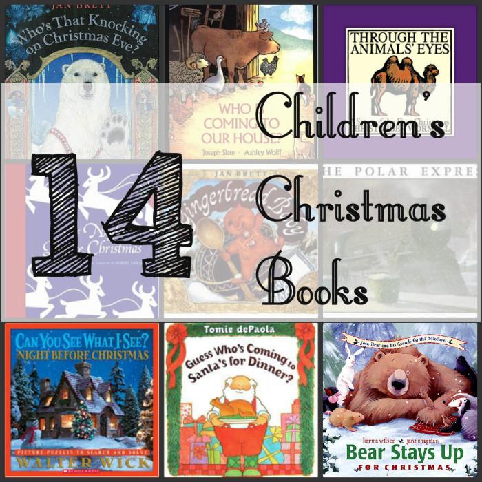 14 CHRISTMAS Children's Books Family Teacher Daycare Lot