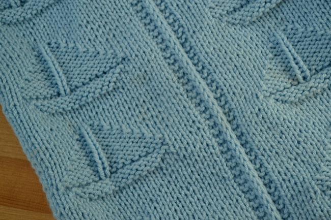 Sailboat Knitting Pattern Baby Blanket : Sailboat Baby Blanket Knitting Pattern Peace but Not Quiet